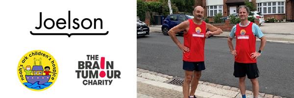Sheldon runs 6.5 miles for his 65th, for The Brain Tumour Charity & Noah's Ark Children's Hospice